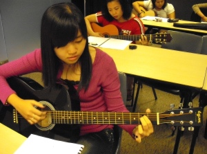 Guitar Student at Fengshan